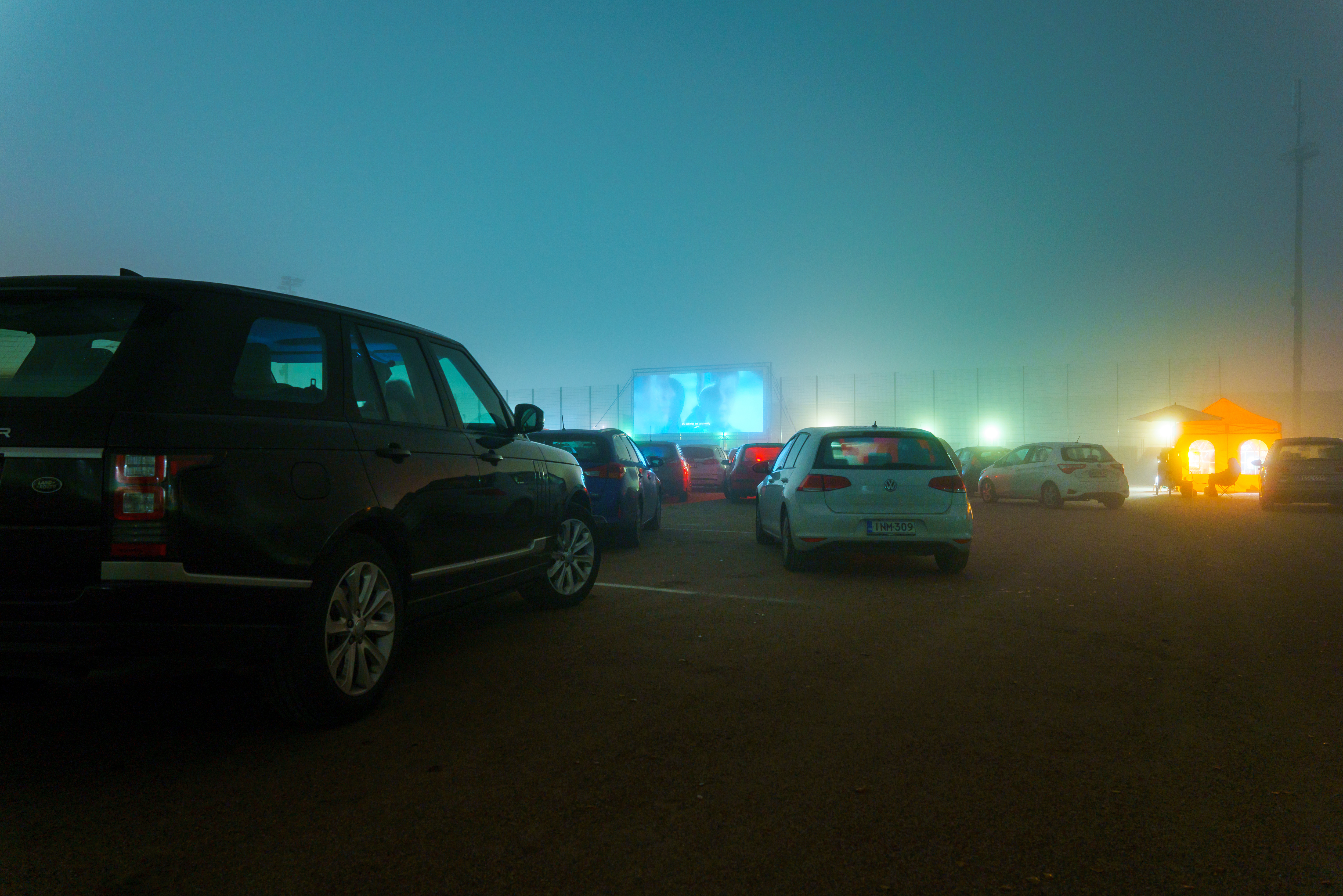 DRIVE-IN-leffoja Vantaalla